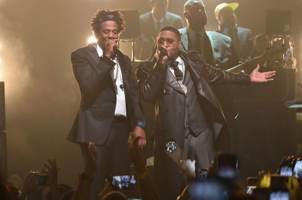 Jay-Z paid tribute to Nipsey Hussle, performed with Nas and Cam'ron and delivered b-sides and cult favorites at Webster Hall reopening gig.