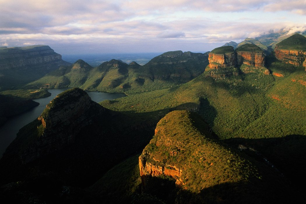 View of the Blyde River Canyon, South Africa