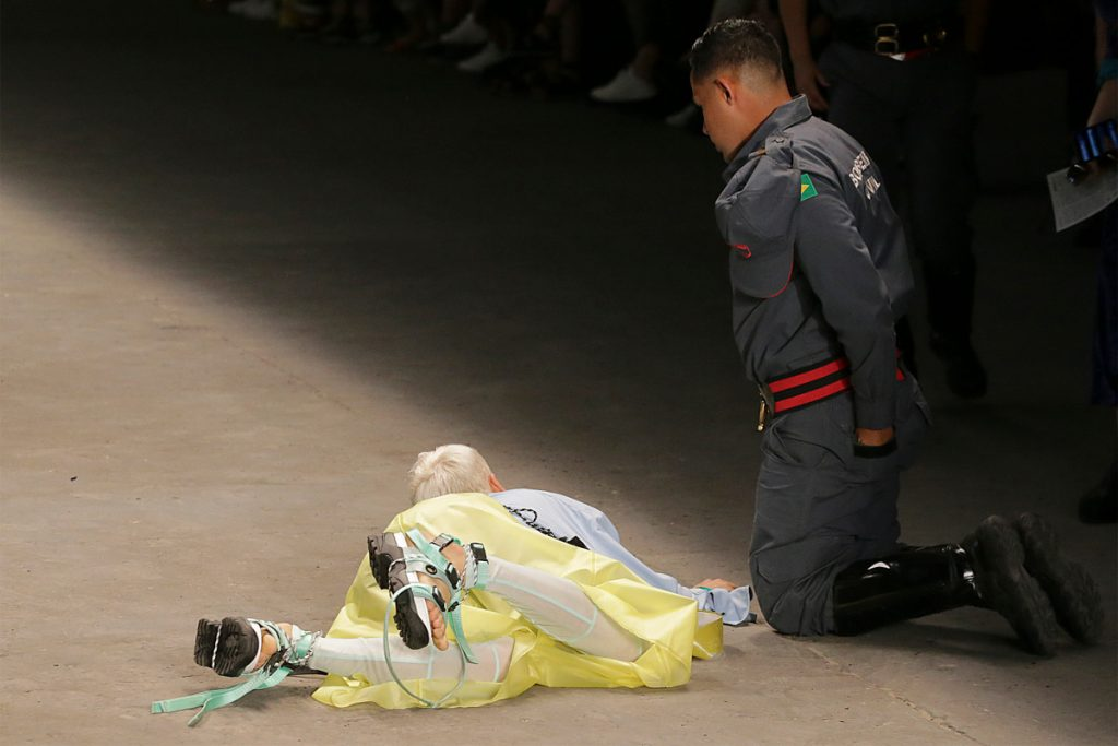 Brazilian model Tales Soares dies after collapsing on catwalk