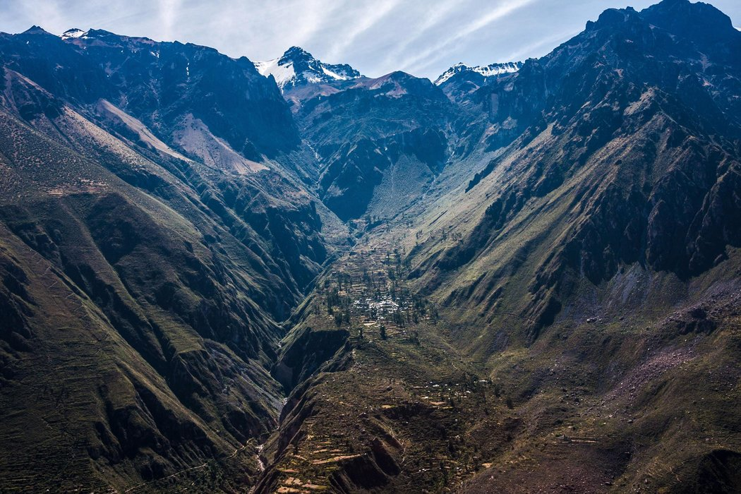 Colca Canyon: one of the world's deepest © ALBERT ENGELN