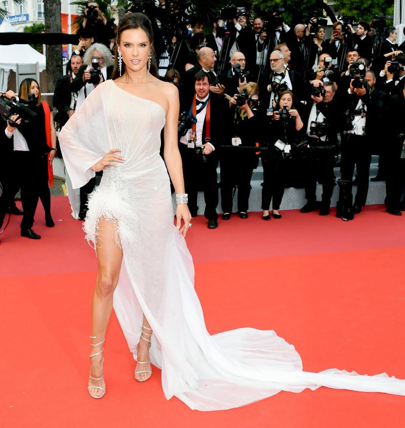 Alessandra Ambrosio at the Cannes Film Festival