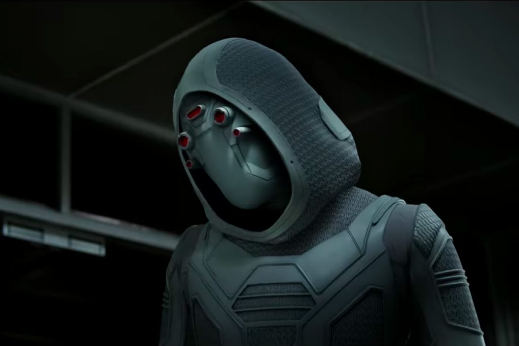 Ghost from the Marvel cinematic universe