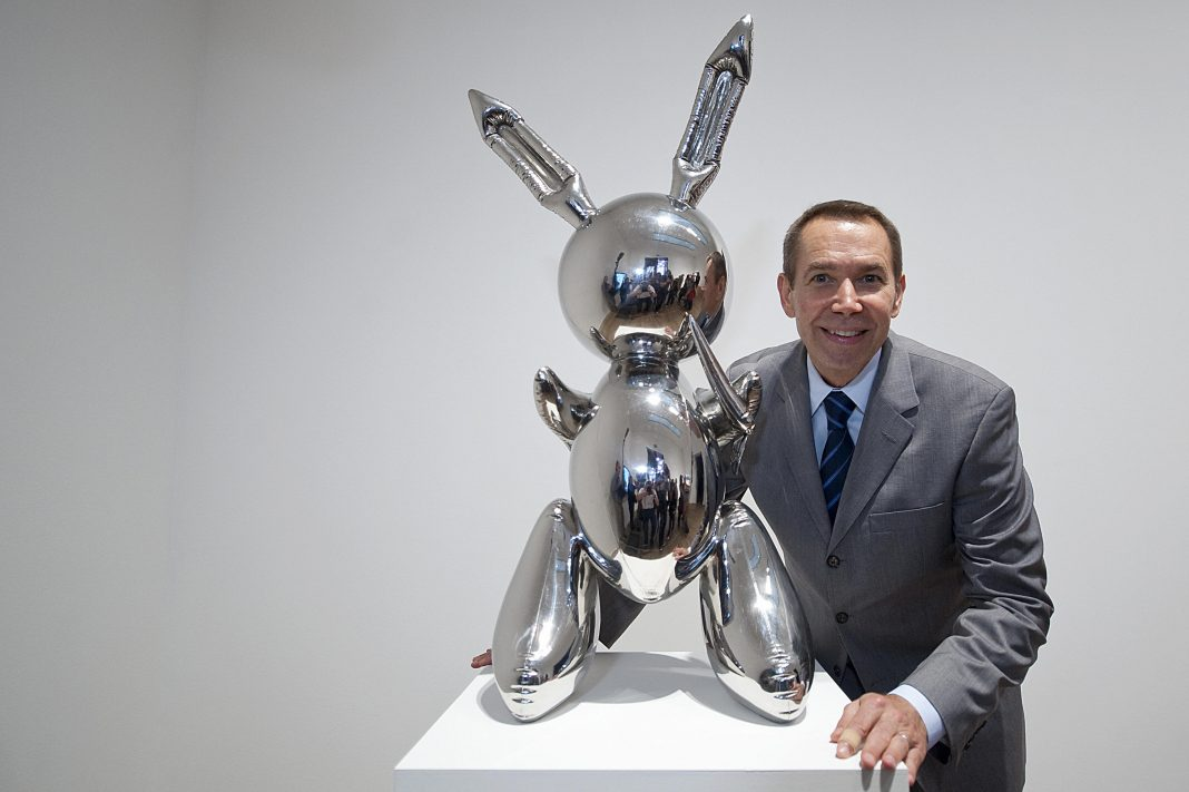 Jeff Koons 'Rabbit' sculpture auctions for a record-breaking $91M