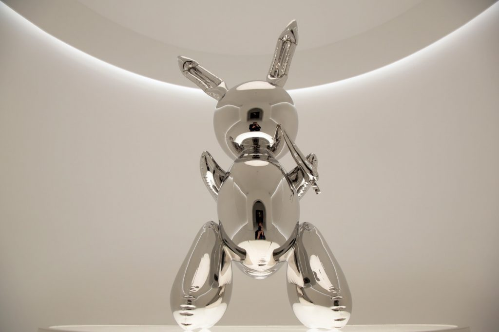 Jeff Koons 'Rabbit' sculpture goes for a record-breaking $91M