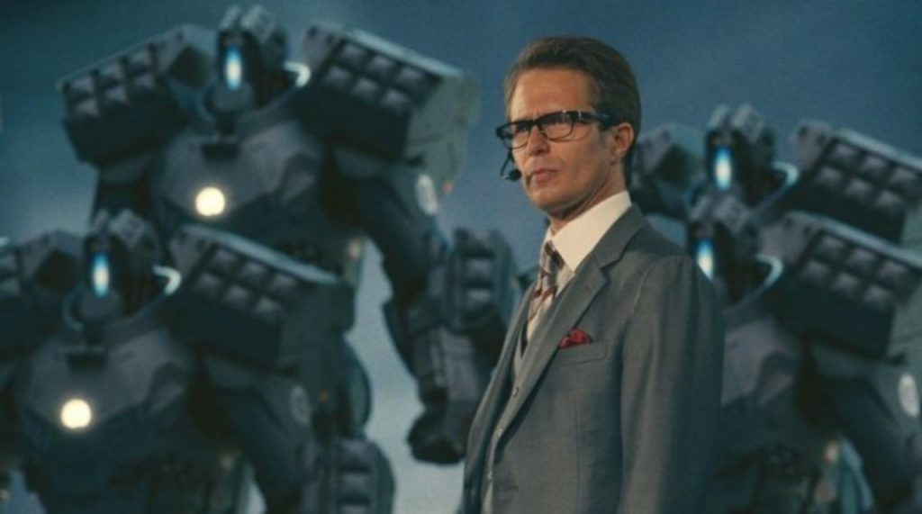 Justin Hammer from the marvel cinematic universe