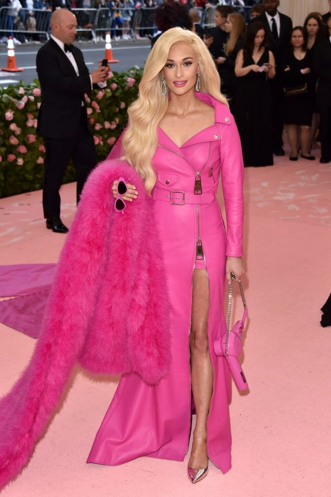 Kacey Musgraves in Pink on the MET Gala 2019 carpet