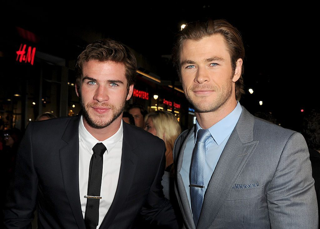 Liam and Chris Hemsworth | Kevin Winter/Getty Images