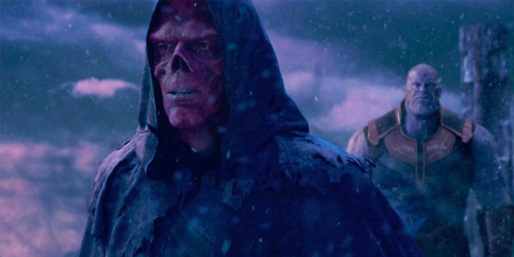 Red Skull from the Marvel Cinematic universe