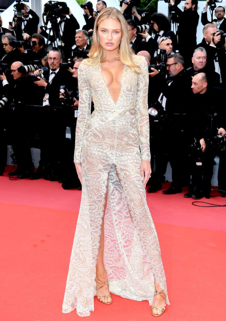 Romee Strijd at the Cannes Film Festival