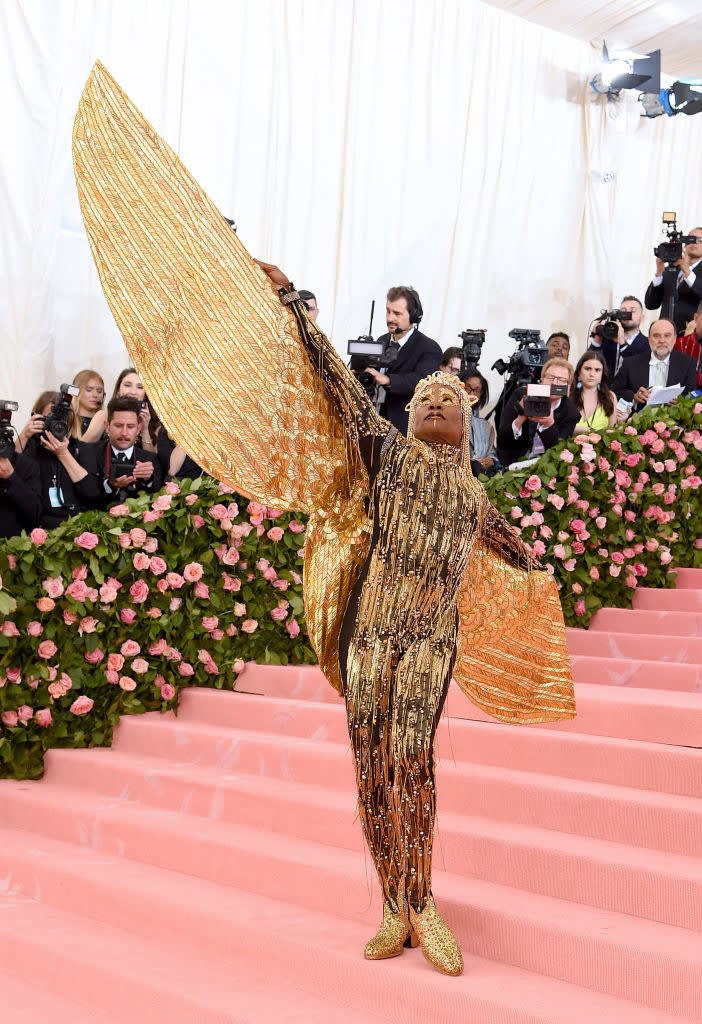 billy porter at the MET gala 2019