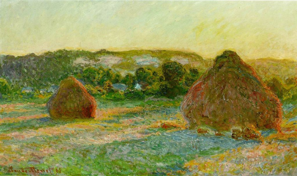 A painting by Claude Monet has been bought for $110.7m (£85.7m), a new world record for a work by the French artist.