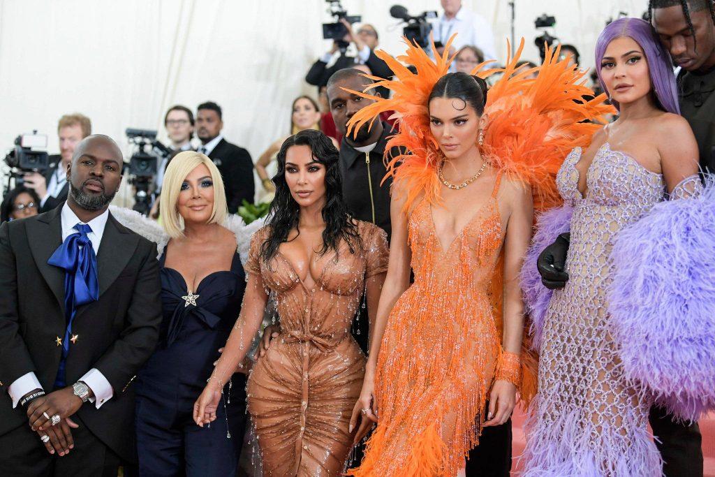 The Kardashians, offset and Corey Gamble at the MET Gala 2019