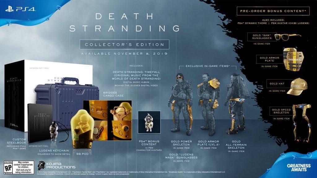 Death Stranding Collectors Edition. SONY