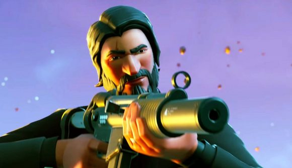 Fornite might release a John Wick related event