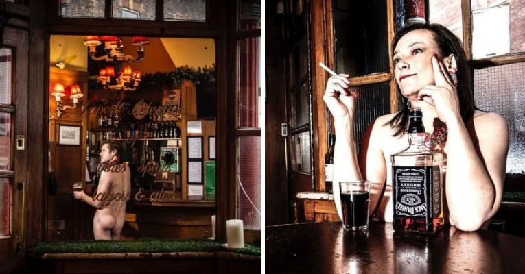 Historic London pub turns into a nude bar.