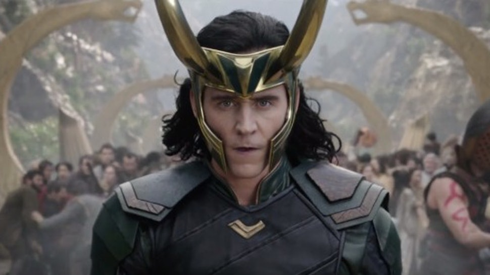 Loki from the marvel cinematic universe