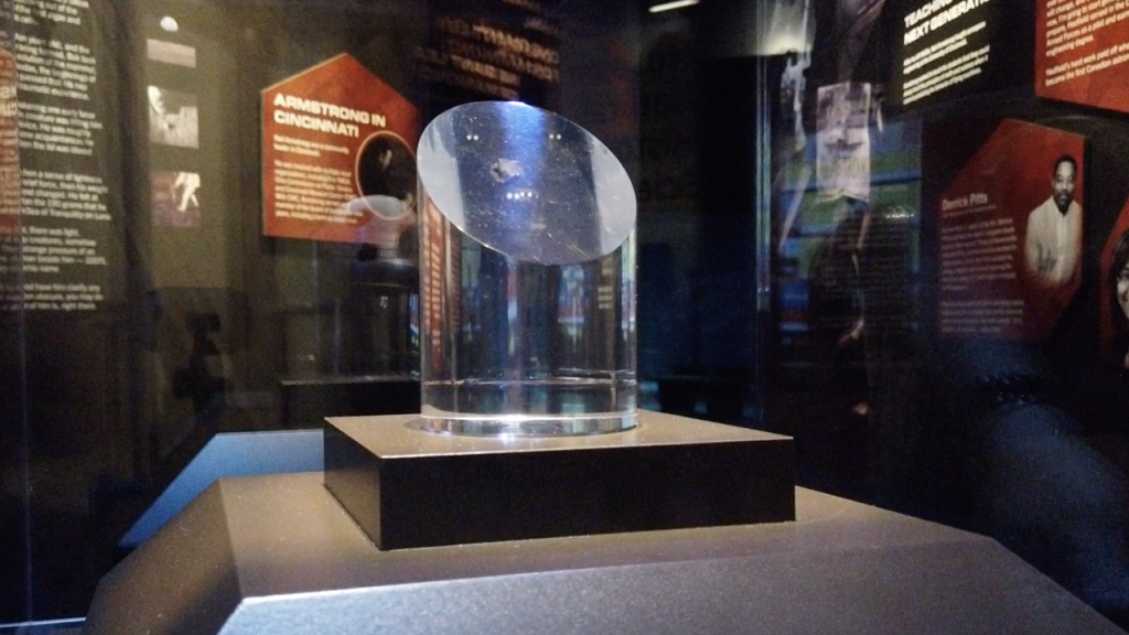 Neil Armstrong was given the moon rock from the Apollo 11 space mission