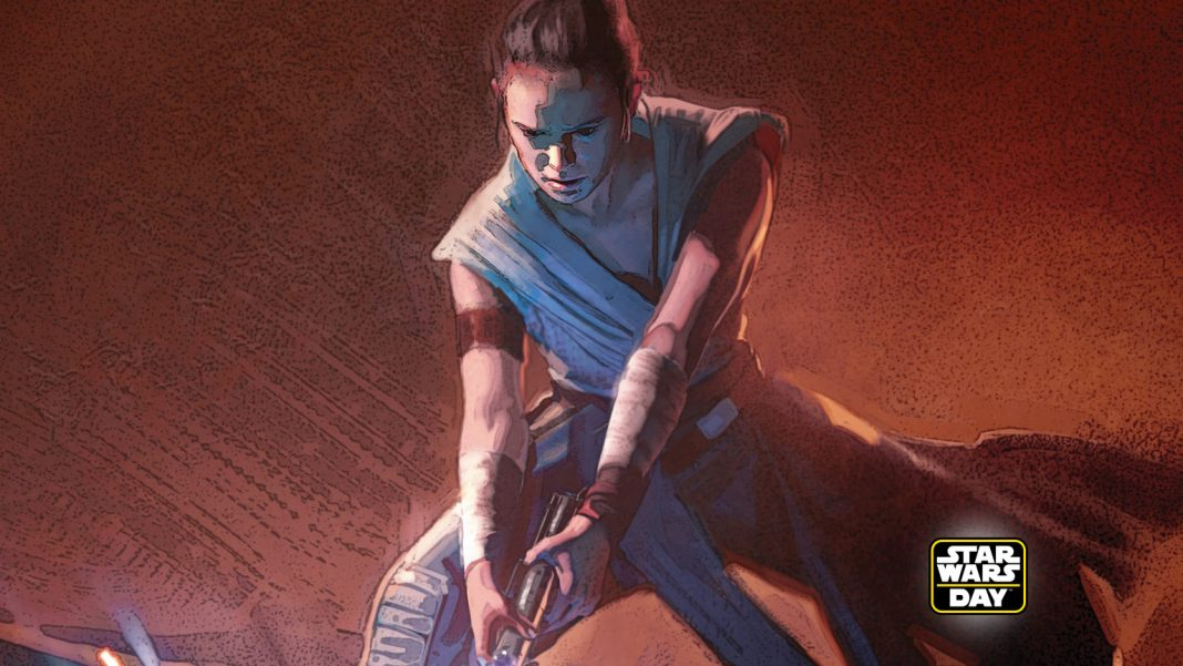 Art for The Rise of Skywalker book collection, via StarWars.com, from The Art of Star Wars: The Rise of Skywalker.