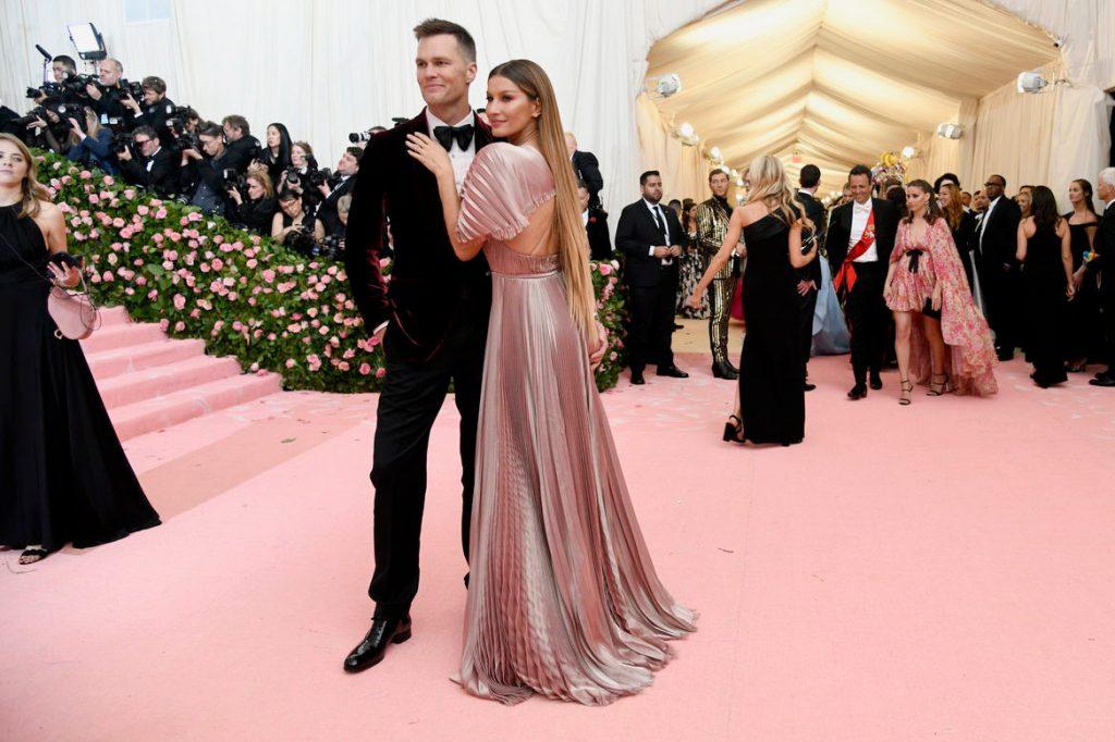 Tom Brady and Gisele Bündchen in Dior Haute Couture