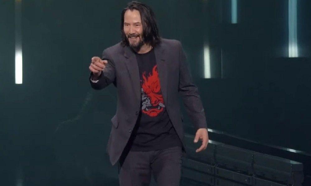 'You're breathtaking' Keanu Reeves fan bags a free copy of Cyberpunk 2077