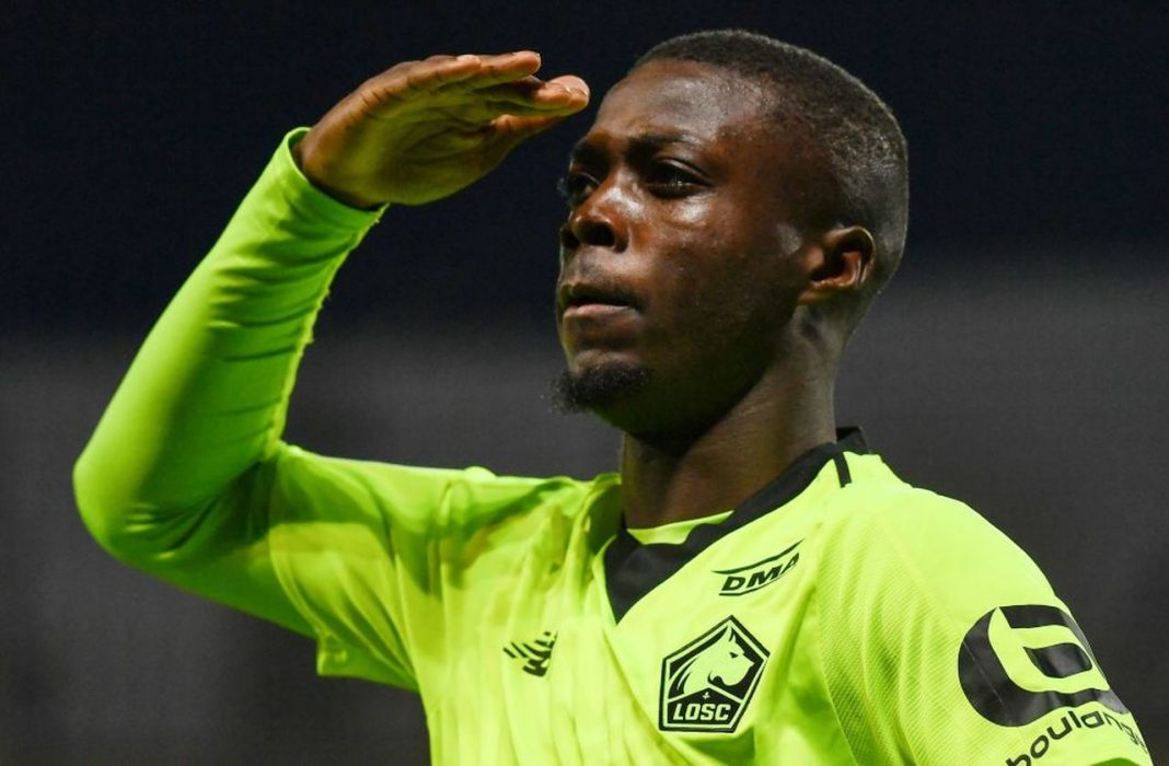 Nicolas Pepe hunted by Arsenal to be signed
