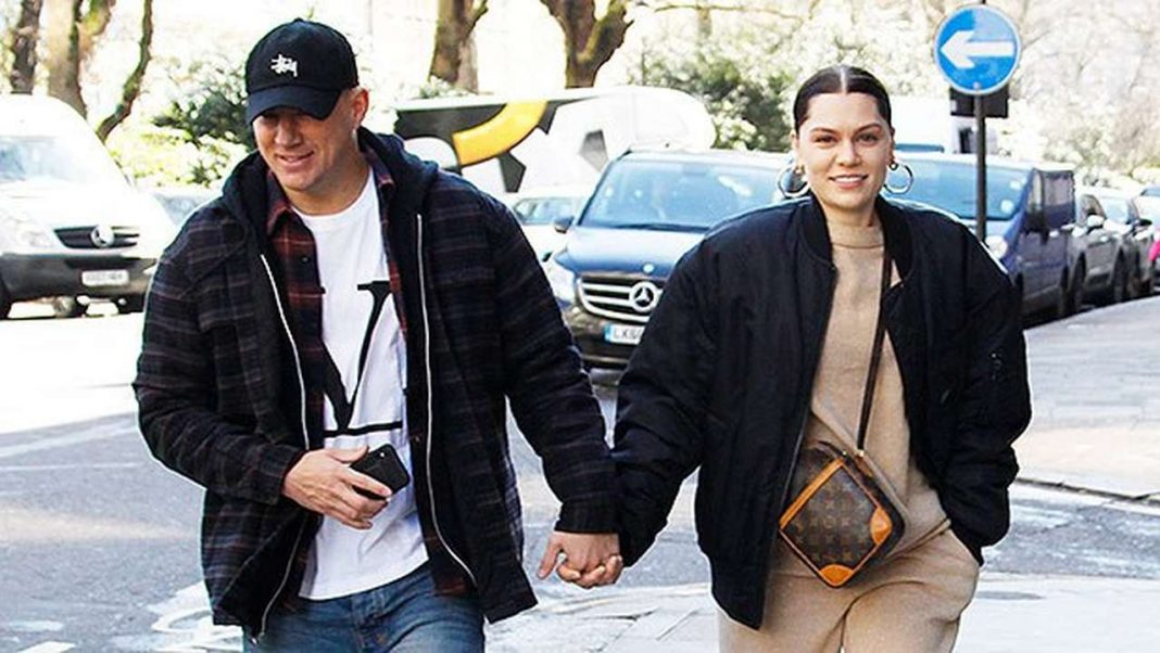Jessie J and Channing Tatum spotted with his daughter