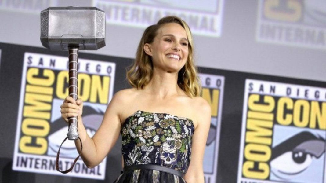 The female Thor will be portrayed by Natalie Portman