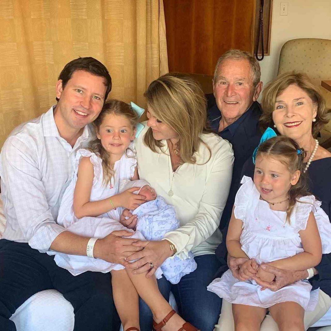 Jenna Bush Hager gave birth to a newborn son