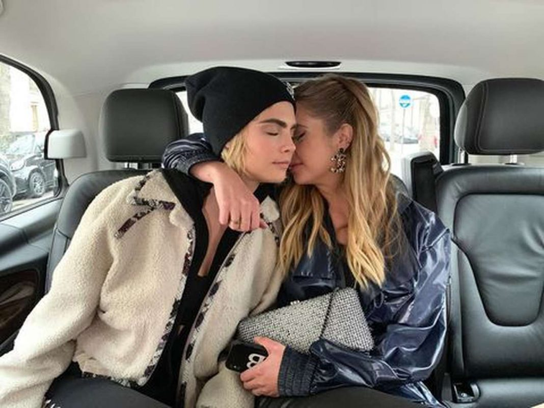 Ashley Benson and Cara Delevingne marriage rumors in Vegas